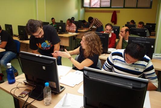 La Fundación Sesé pone en marcha curso de formación de auxiliar de almacén en el que participan 15 alumnos con discapacidad de Madrid.