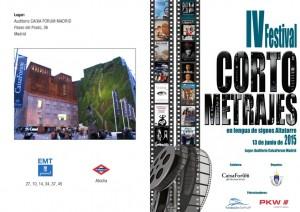 Fundación Sesé colabora en el IV Festival de Cortometrajes en Lengua de Signos