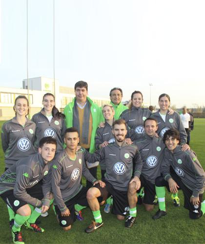 Clinic con VFL Wolfsburg