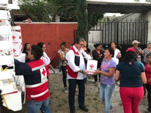 Entrega ayuda México