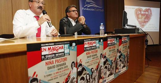 Rueda de prensa en Hospital Miguel Servet