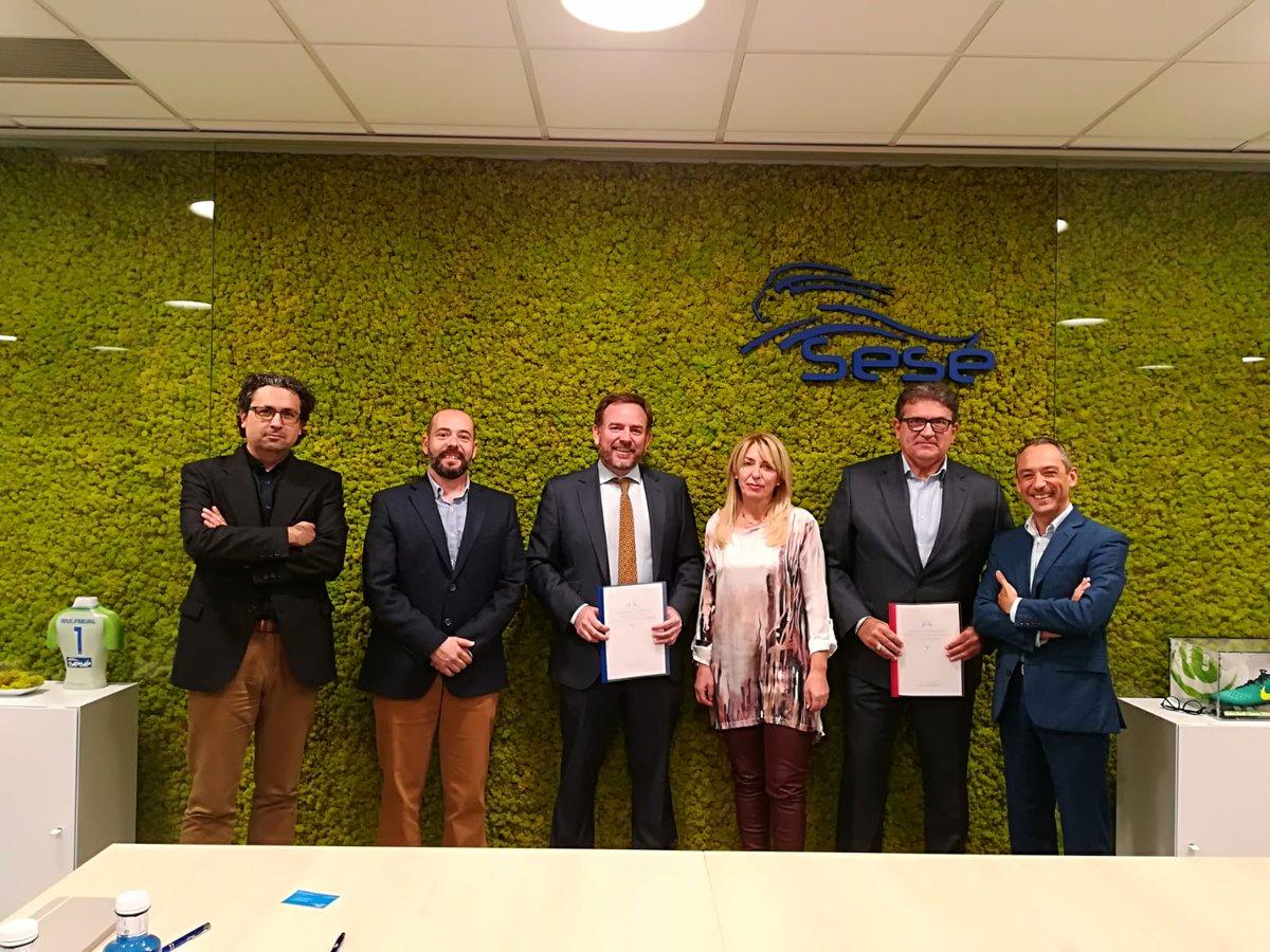 Fundación Sesé y el Clúster de la Energía de Aragón firman un Convenio de colaboración