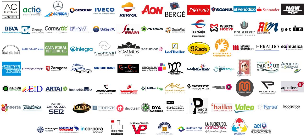 Patrocinadores y colaboradores de Fundación Sesé