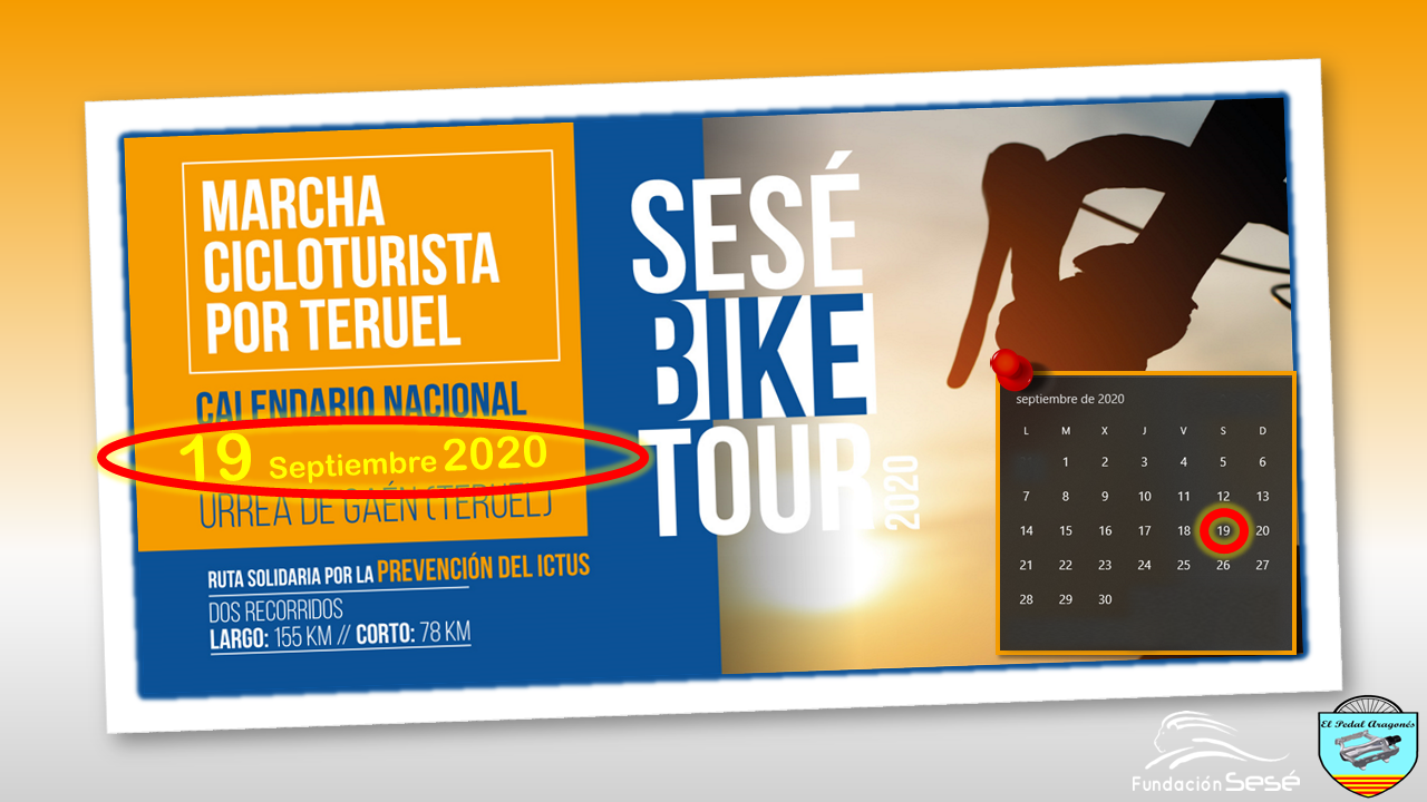 COMUNICADO URGENTE – SESÉ BIKE TOUR 2020