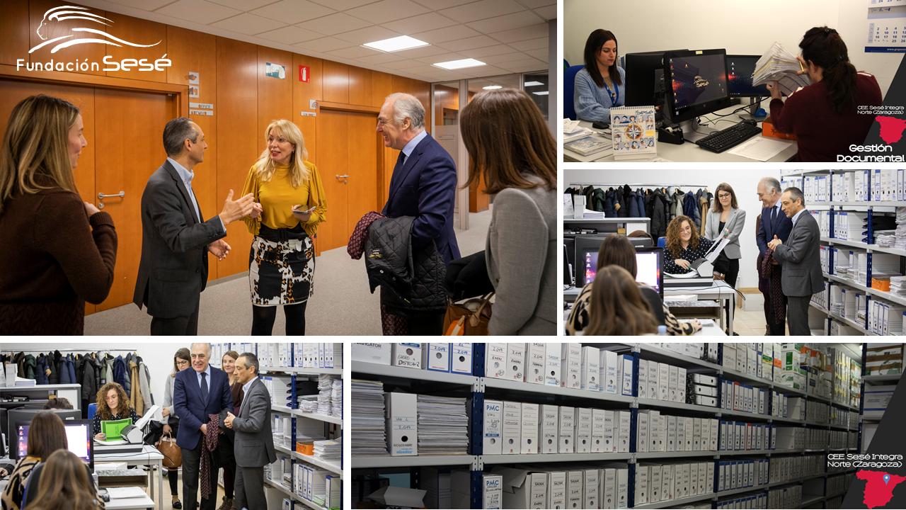 Ibercaja y Fundación Ibercaja colaboran en el proyecto que se desarrolla en los Centros Especiales de Empleo en Martos, Jaén, y en Zaragoza de la Fundación Sesé.