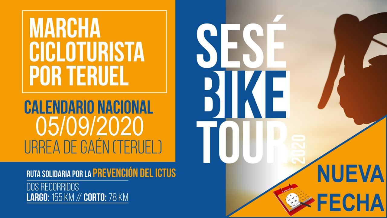 Nueva fecha para la Sesé Bike Tour 2020