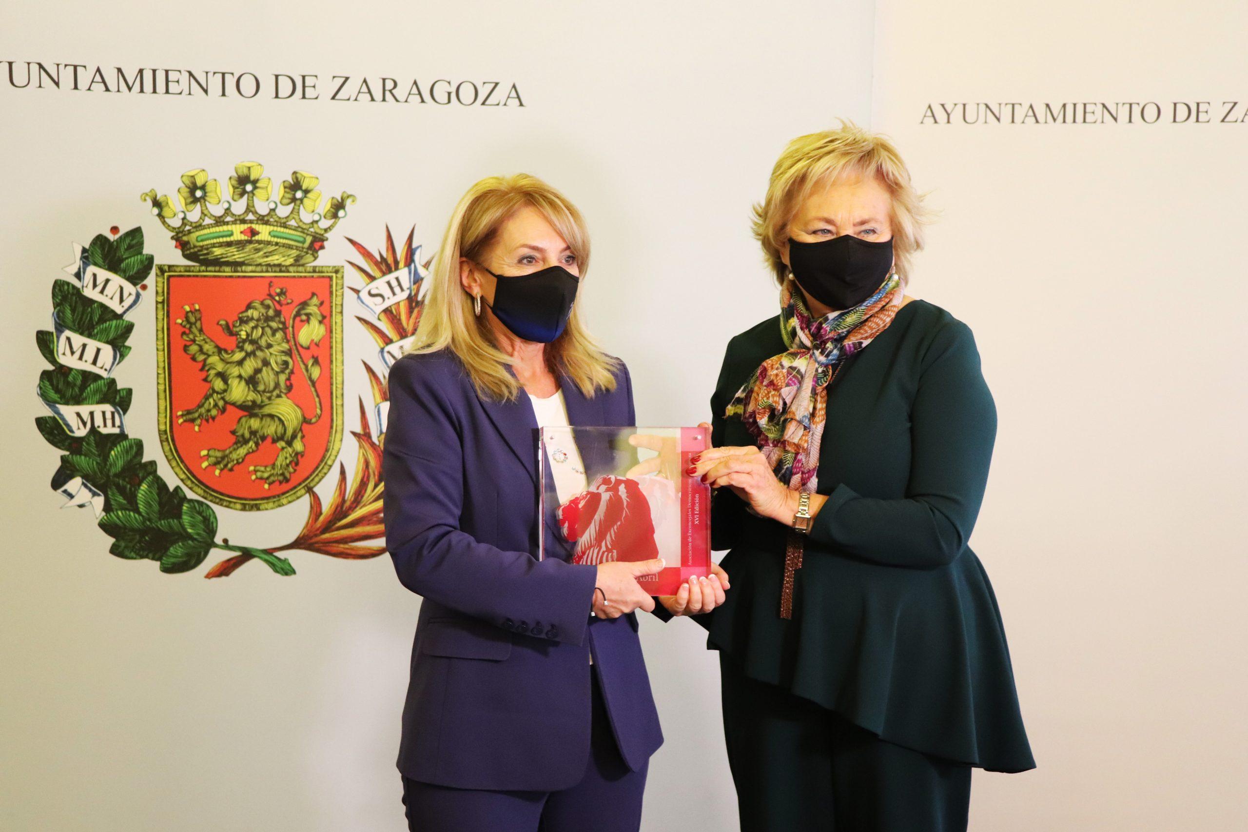 """La  Fundación Sesé recibe el premio  """"3 de Abril"""" en la categoría de Trabajo Social."""