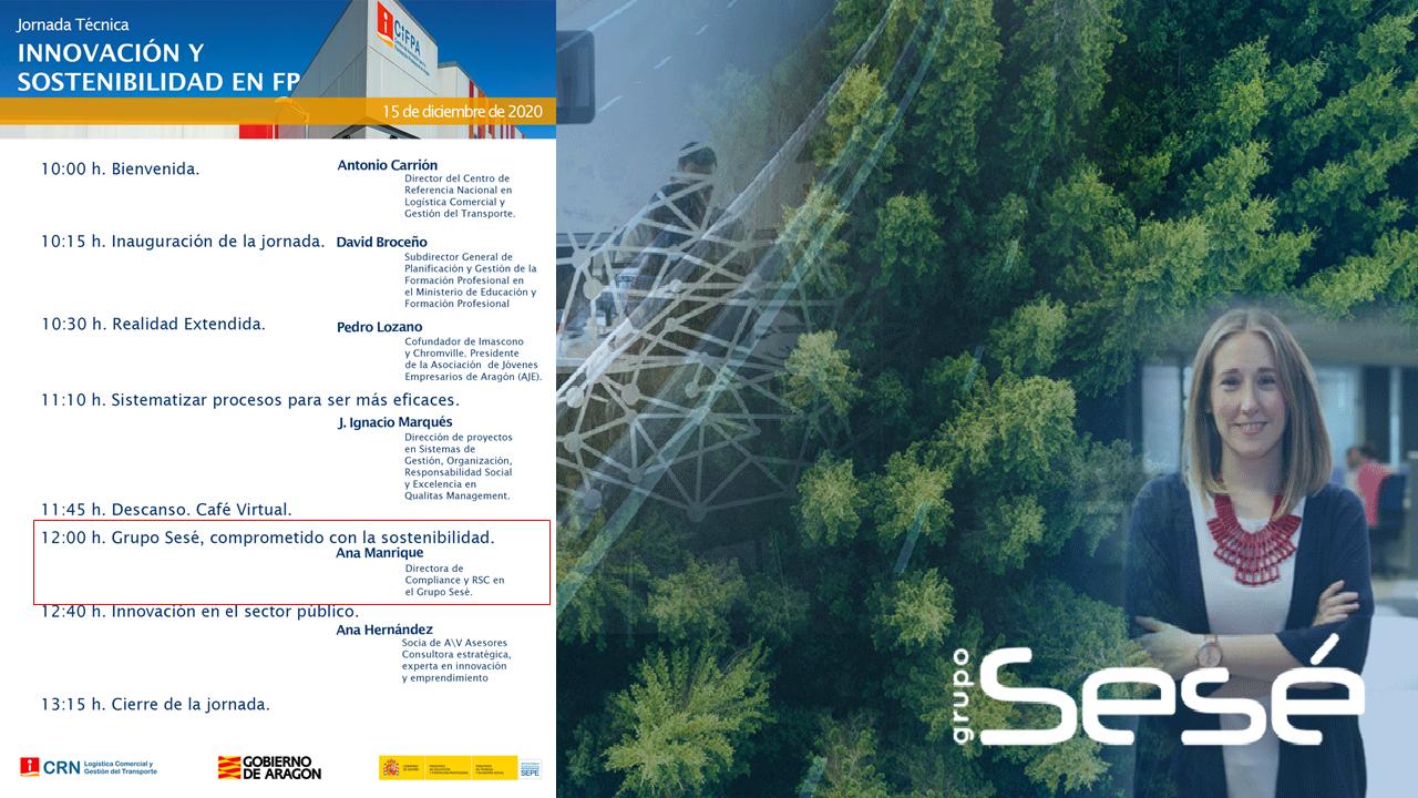 Medio Ambiente, Responsabilidad Social y la Seguridad, son las tres patas fundamentales en la RSC del Grupo Sesé.