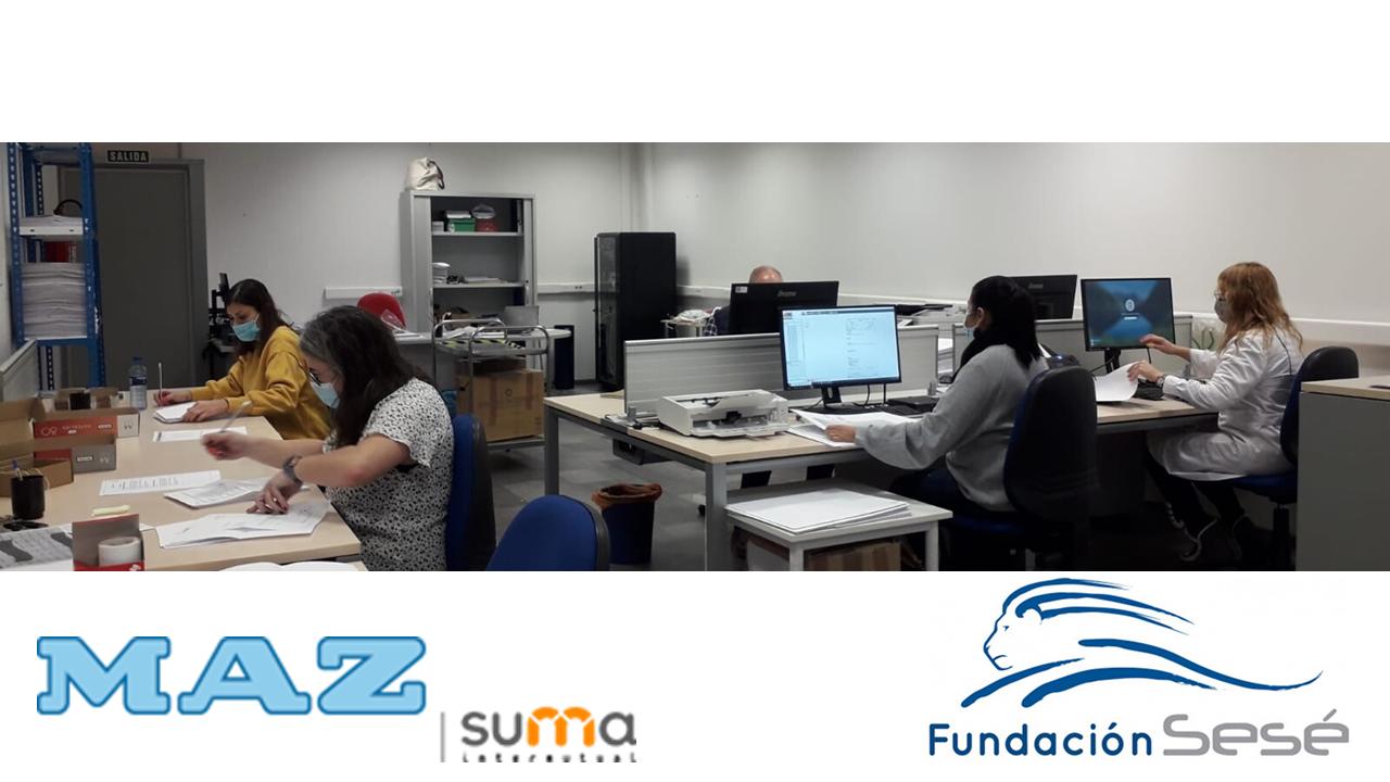 Mutua Maz, a un solo click con Fundación Sesé.