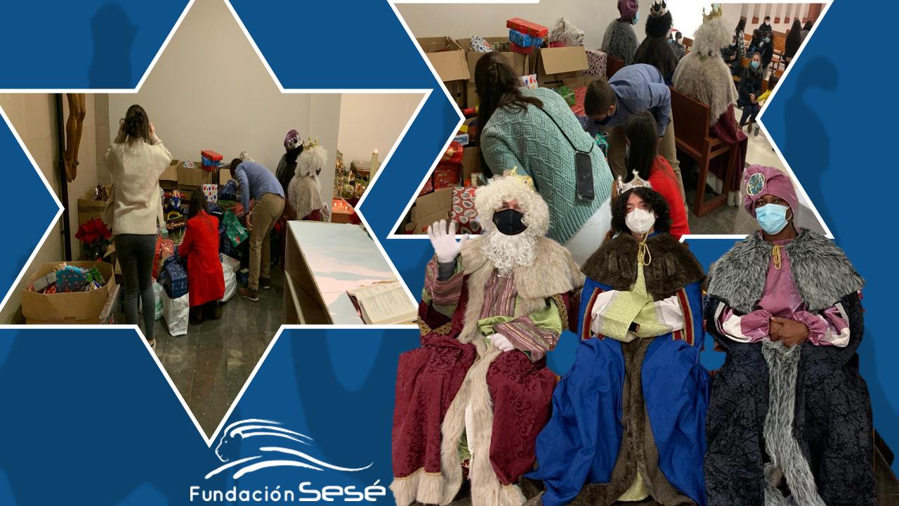 Fundación Sesé entrega juguetes a 300 niños zaragozanos