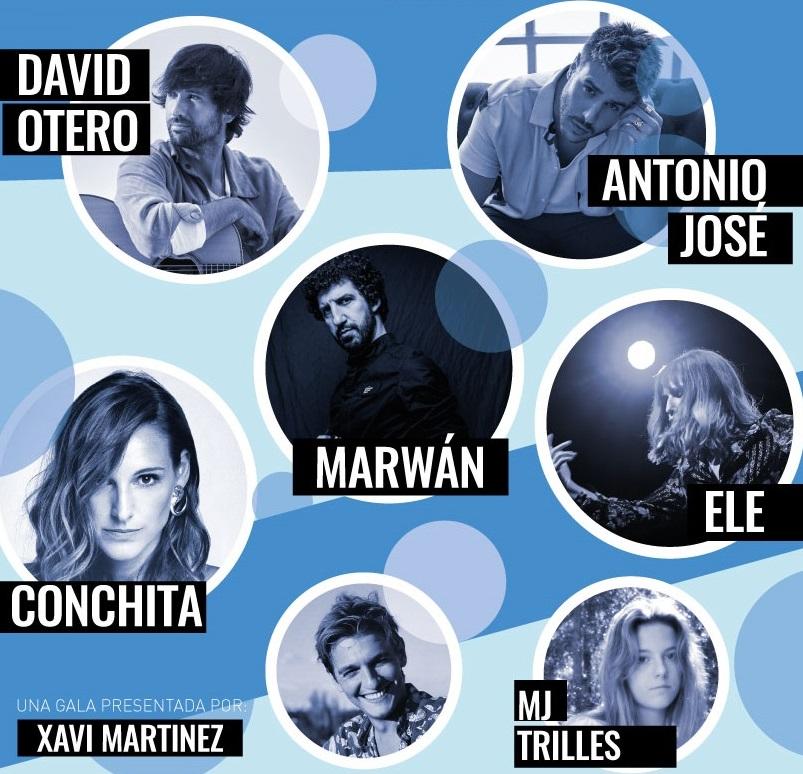 David Otero y Antonio José, entre otros, actuarán en la gala benéfica de Fundación Sesé