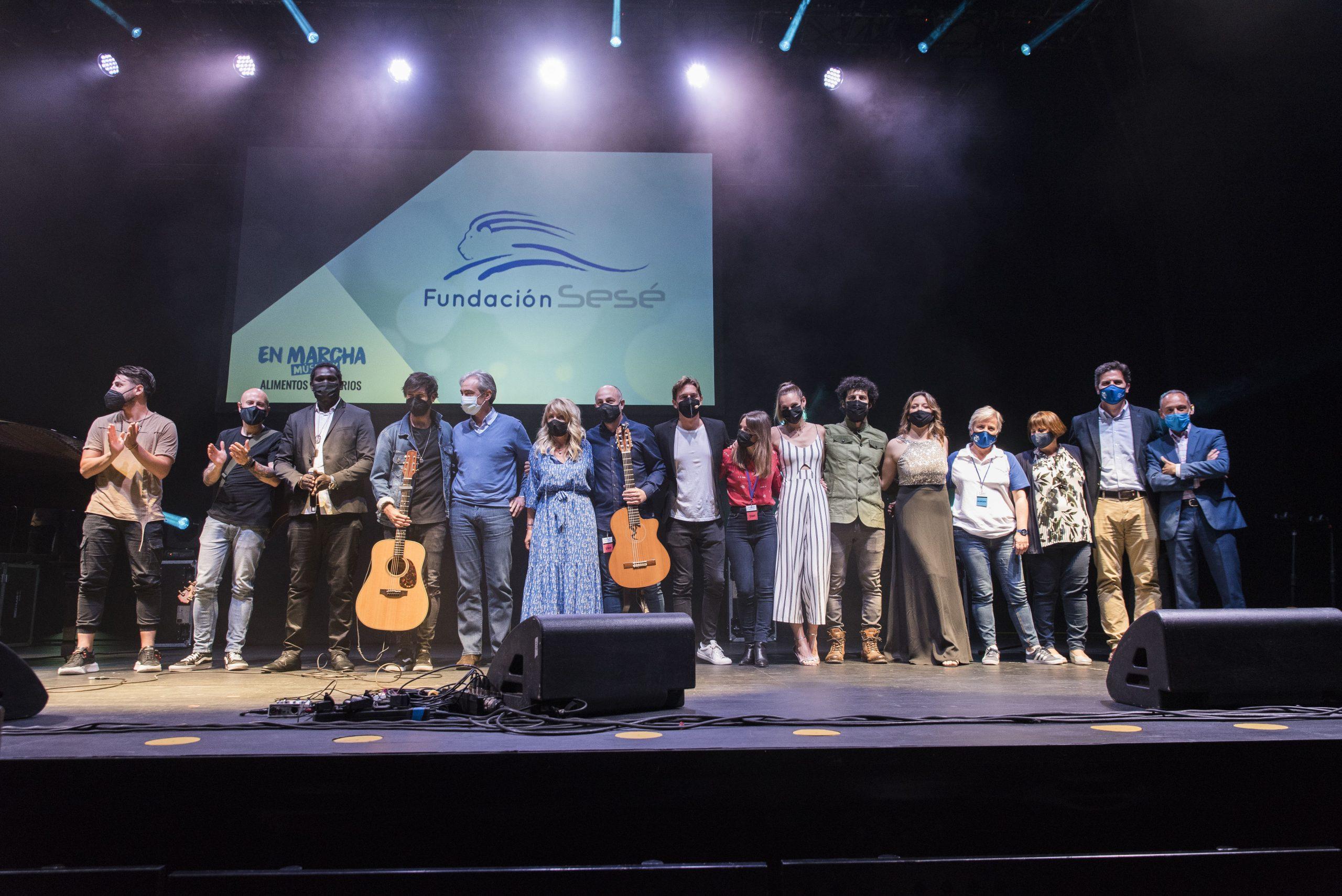 Fundación Sesé se pone en marcha y obtiene con la gala benéfica 10.000 menús solidarios más