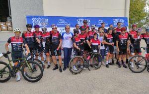 La Sesé Bike Tour 2021 consigue recaudar 21.450€ para fortalecer nuestro programa de asistencia alimentaria.
